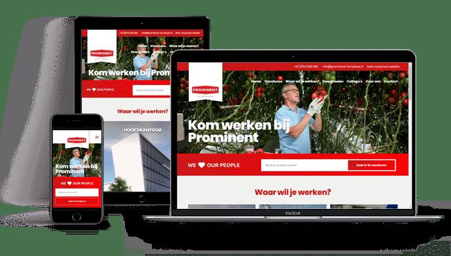 Werken-Bij Website Prominent Tomaten