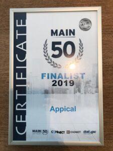 Main 50 nominatie Appical